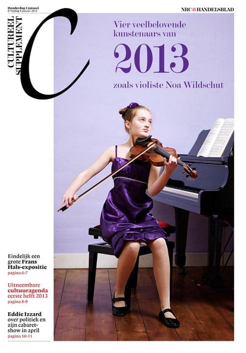 Noa Wildschut in NRC Cultureel Supplement