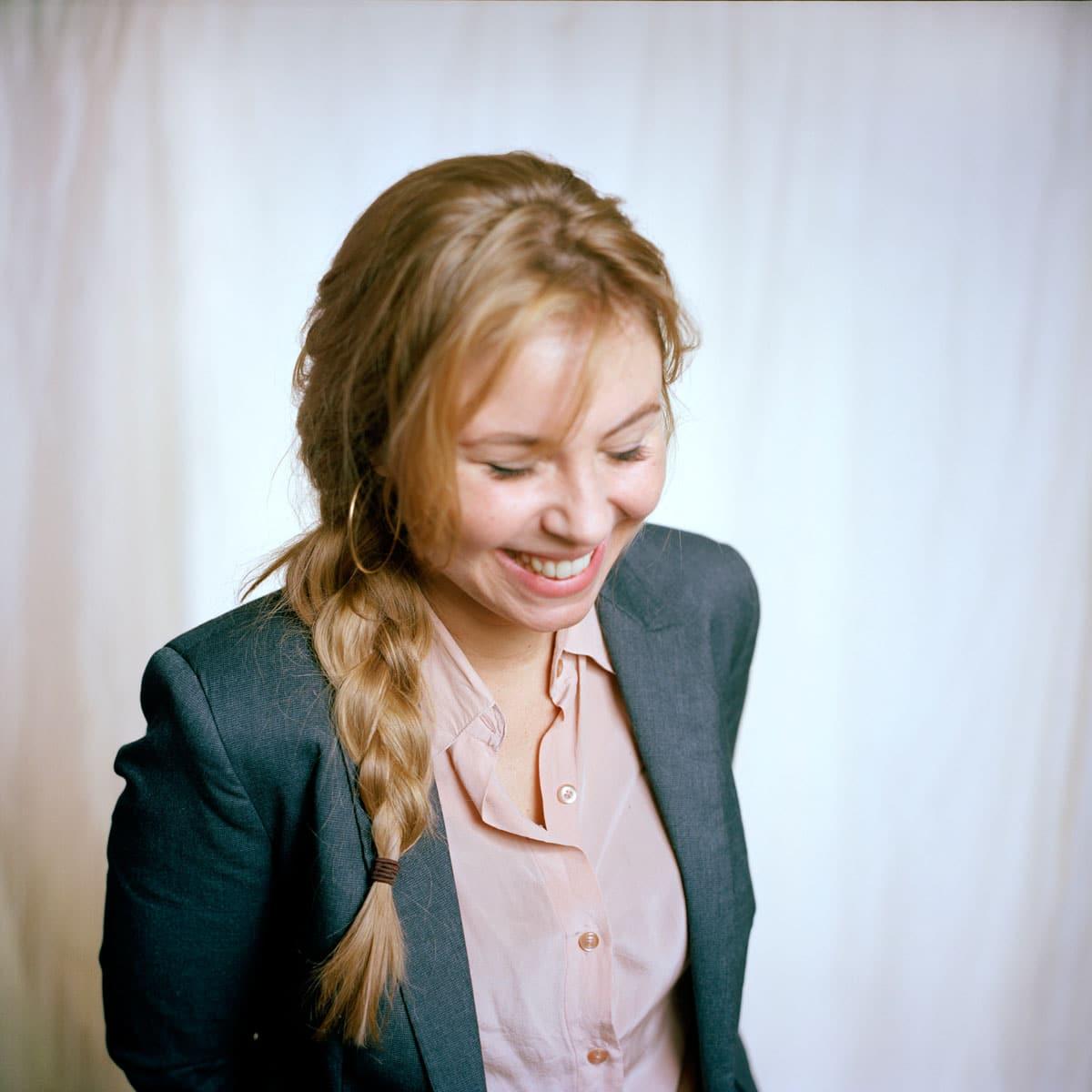 Nova van Dijk, Nederlands filmregisseur, actrice en schilder. PHOTO AND COPYRIGHT ROGER CREMERS