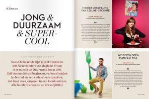 One World Magazine Duurzame Jonge 100