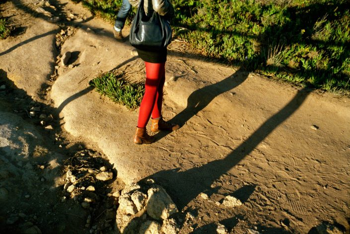Portugal, Lissabon, 25-10-2010 Woman Legs PHOTO AND COPYRIGHT ROGER CREMERS