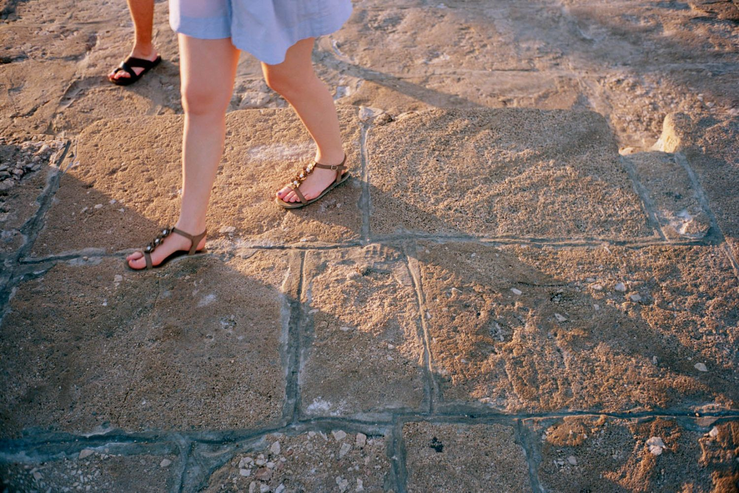 Kroatie, Krk, 20-08-2011 Beautiful women legs at Krk island in Croatia PHOTO AND COPYRIGHT ROGER CREMERS
