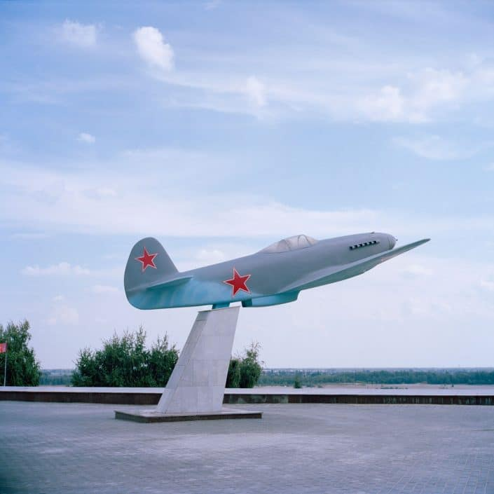 "Russia, Volgograd, 03-09-2013 Fighter aircraft Yakovlev Yak-3 in the Volgograd State panoramic museum ""Stalingrad Battle PHOTO AND COPYRIGHT ROGER CREMERS"