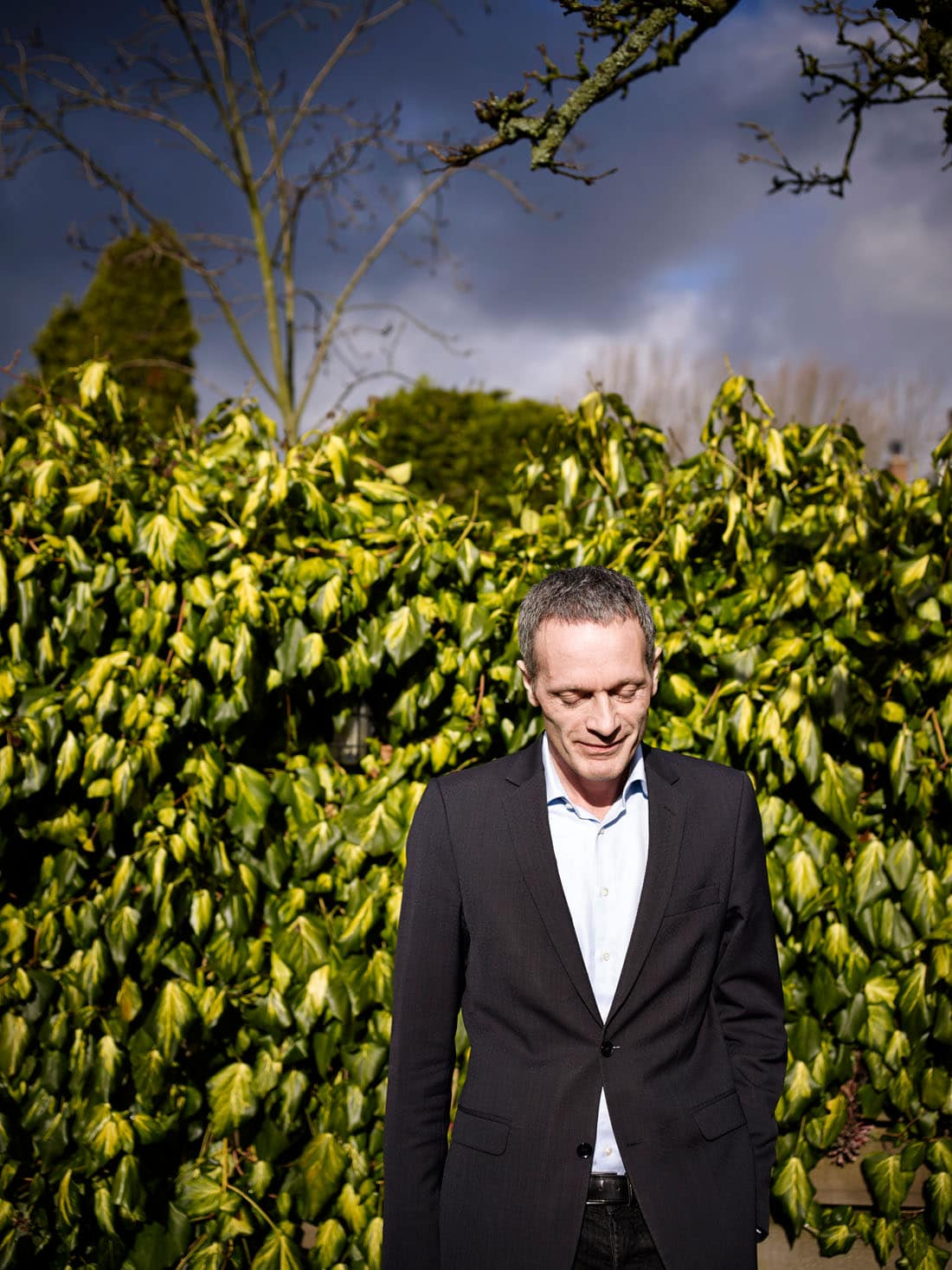Pieter Steinz, directeur van het Nederlands Letterenfonds en oud-chef Boeken van NRC Handelsblad PHOTO AND COPYRIGHT ROGER CREMERS