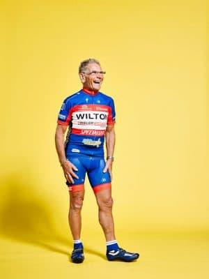 Wielrenners van de Volharding Utrecht Theo Broere (80, Nieuwegein) PHOTO AND COPYRIGHT ROGER CREMERS