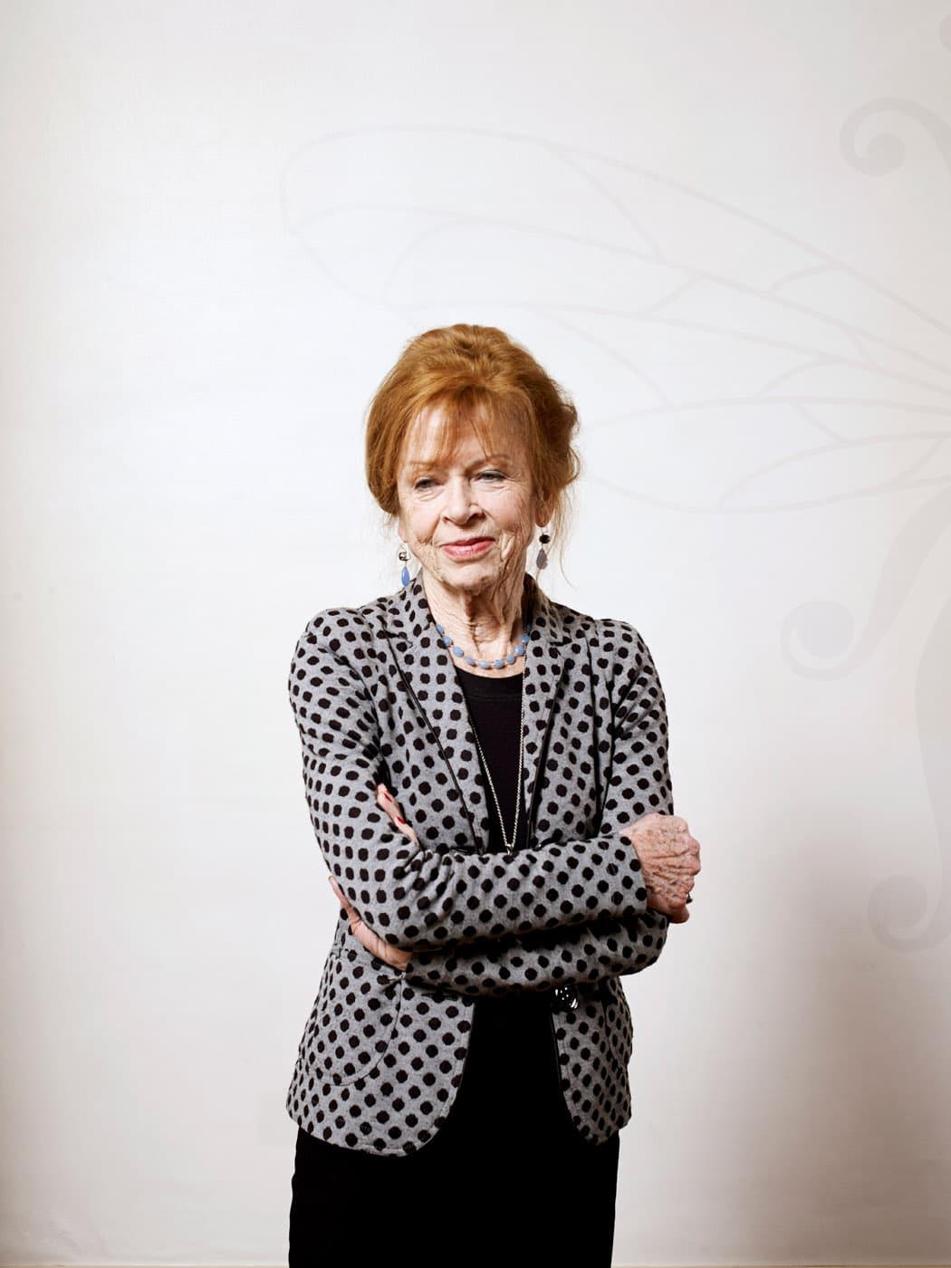 Nederland, Amsterdam, 17-02-2017 Sonja Barend, Nederlands televisiepresentatrice en auteur bij de Bezige Bij PHOTO AND COPYRIGHT ROGER CREMERS