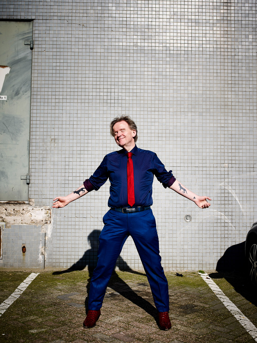 Nederland, Amsterdam, 24-03-2017 René ten Bos (1959) is de nieuwe Denker des Vaderlands en hoogleraar filosofie aan de Radboud Universiteit Nijmegen. PHOTO AND COPYRIGHT ROGER CREMERS