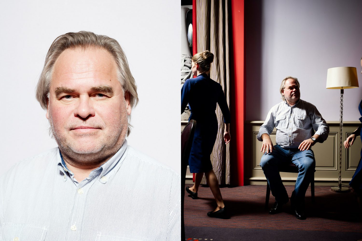 Nederland, Amsterdam, 30-11-2017 Eugene Kaspersky ( Yevgeny Valentinovich Kaspersky), Russian cybersecurity expert and the CEO of Kaspersky Lab. PHOTO AND COPYRIGHT ROGER CREMERS