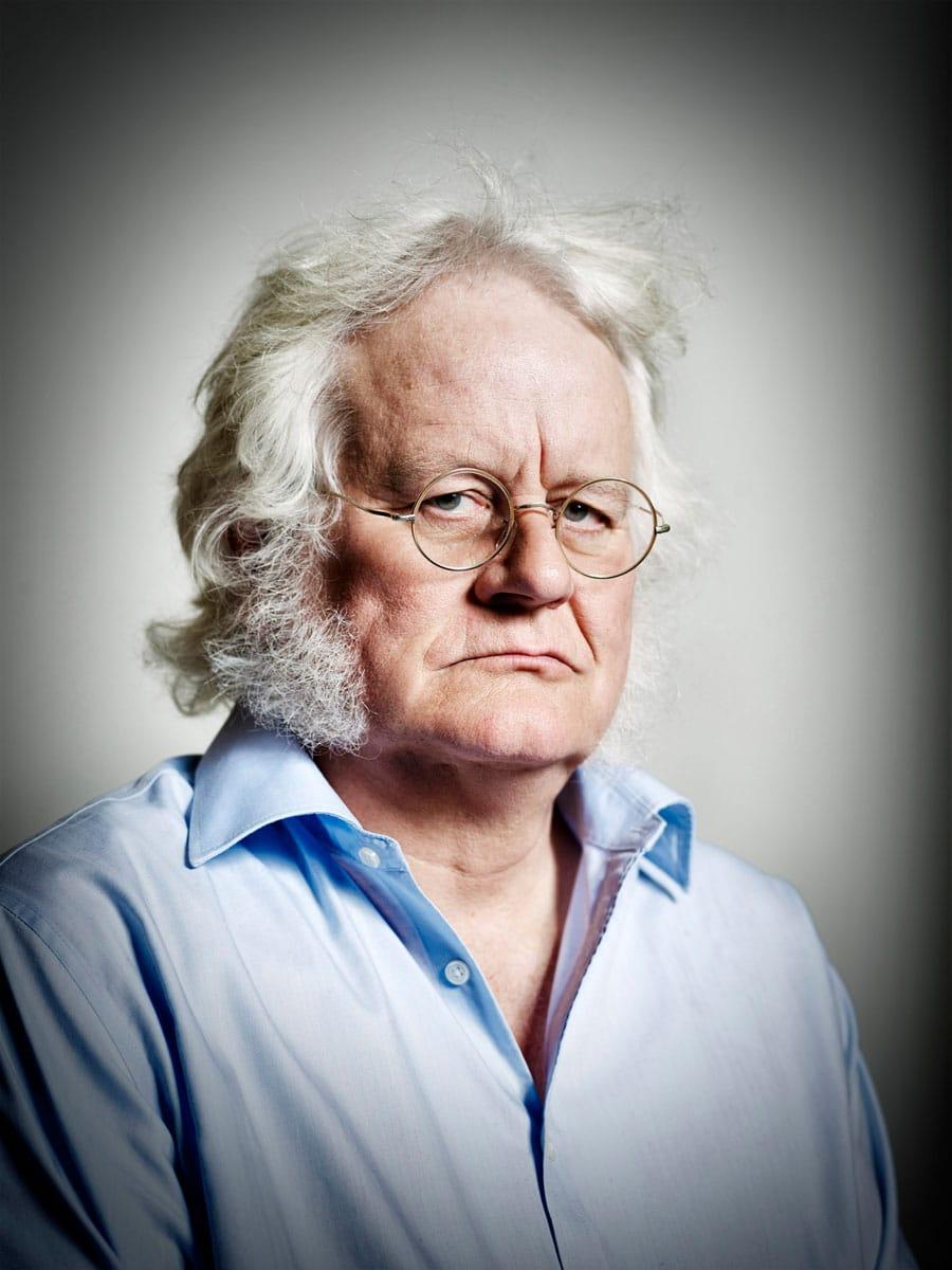 Redmond O'Hanlon (Dorset, 1947) is een Brits schrijver. PHOTO AND COPYRIGHT ROGER CREMERS