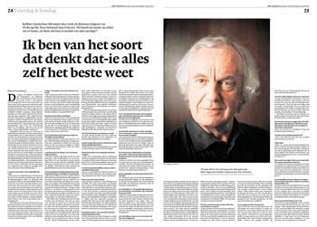 Robbert Ammerlaan in NRC Handelsblad by Roger Cremers 2012