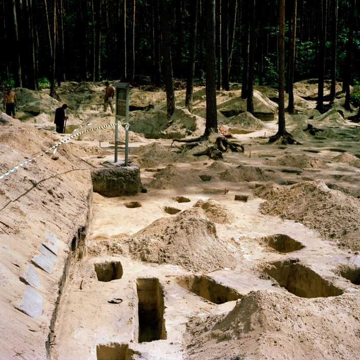 "Poland, Sobibor, 07-06-2011 Archeological research at the former German Nazi extermination camp in Sobibor - reconnoitering the 3rd camp. Archeological research in 2011 contacted within the project of revitalising the memorial of the former German Nazi extermination camp in Sobibor, implemented on the basis of the ""Memorandum of Understanding"", which was drawn up in Warsaw on 28.02.2011 by the representatives of the Kingdom of the Netherlands, Israel, Poland and Slovakia. The organizer of the research is Leczynsko-Wlodaskie Lakeland Museum in Wlodawa. The research is carried out by company ""SUB TERRA"" Archeological Research mgr Wojciech Mazurek in Chelm and financed by a grant submitted by the Kingdom of the Netherlands. The operator of the project of revitalizing the project is the foundation for ""Polish-German Reconciliation"" (""Polsko-Niemieckie Pojednanie"" with seat in Warsaw. PHOTO AND COPYRIGHT ROGER CREMERS"