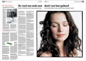 Sophie Veldhuizen in nrc next