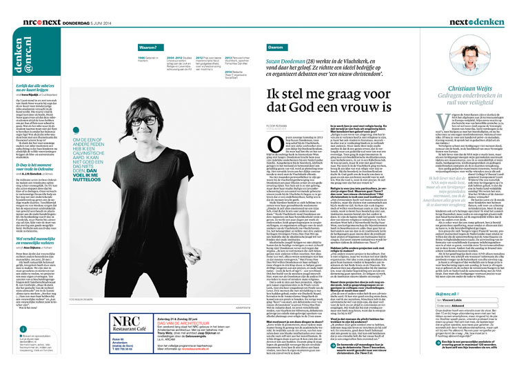 Suzan Doodeman in nrc next