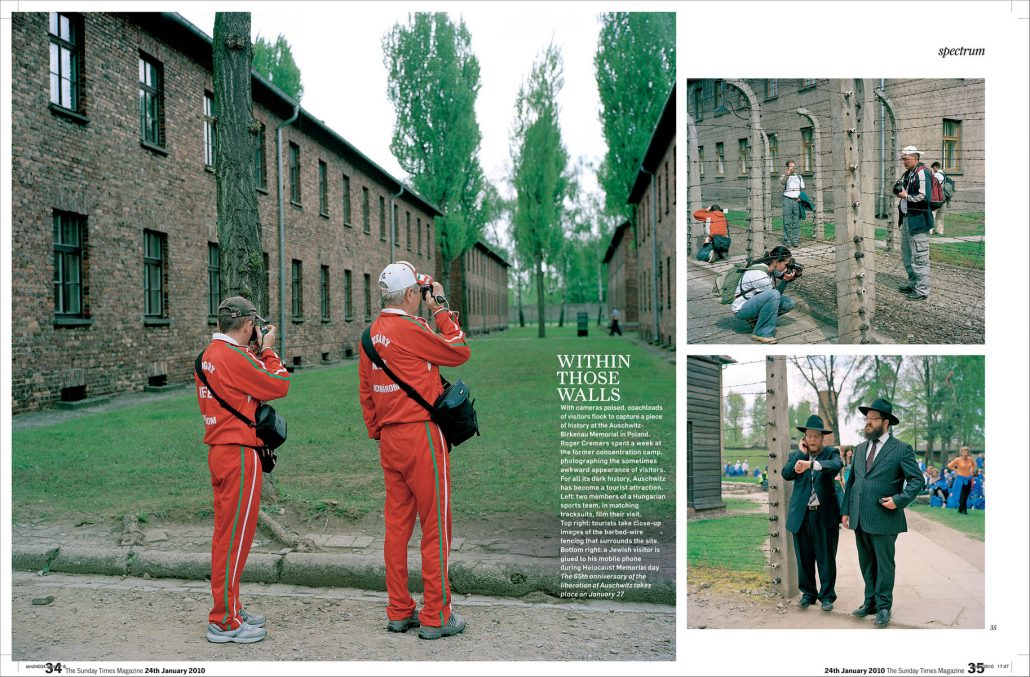 auschwitz in sunday times magazine by roger cremers