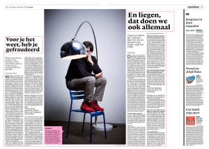 Dan Ariely in nrc handelsblad by Roger Cremers