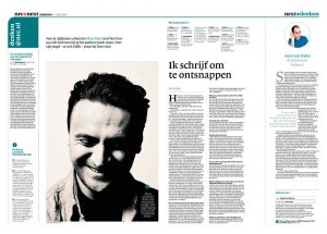 UntitledDara Faizi in nrc next by Roger Cremers 2013