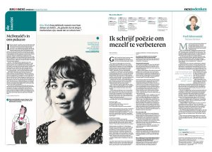 Kira Wuck in nrc next by Roger Cremers