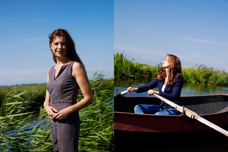 Marcia Luyten (Wijnandsrade, 1971) is een Nederlands econoom, journaliste en televisiepresentatrice. PHOTO AND COPYRIGHT ROGER CREMERS