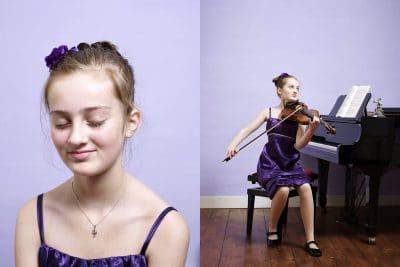 Noa Wildschut (2001) violiste. Sinds de zomer van 2008 maakt Noa als jongste student deel uit van de Jong Talentklas van het Conservatorium van Amsterdam. PHOTO AND COPYRIGHT ROGER CREMERS