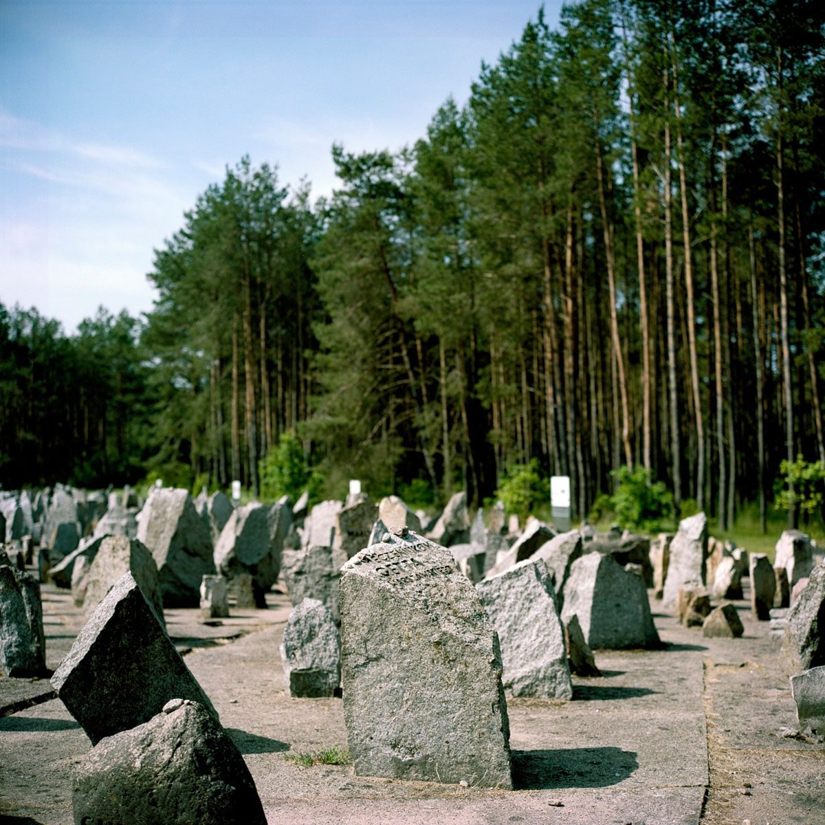 Poland, Treblinka, 01-06-2011 Treblinka was a Nazi German extermination camp in occupied Poland during World War II, near the village of Treblinka in the modern-day Masovian Voivodeship of Poland. Between July 22, 1942 and October 19, 1943, around 900.000 people were killed there. Treblinka is de naam van twee concentratiekampen: Treblinka I, een werkkamp en Treblinka II, een vernietigingskamp die respectievelijk in 1941 en 1942 gebouwd werden nabij het Poolse dorp Treblinka in het noordoosten van Polen. Er werden 900.000 mensen vermoord. PHOTO AND COPYRIGHT ROGER CREMERS