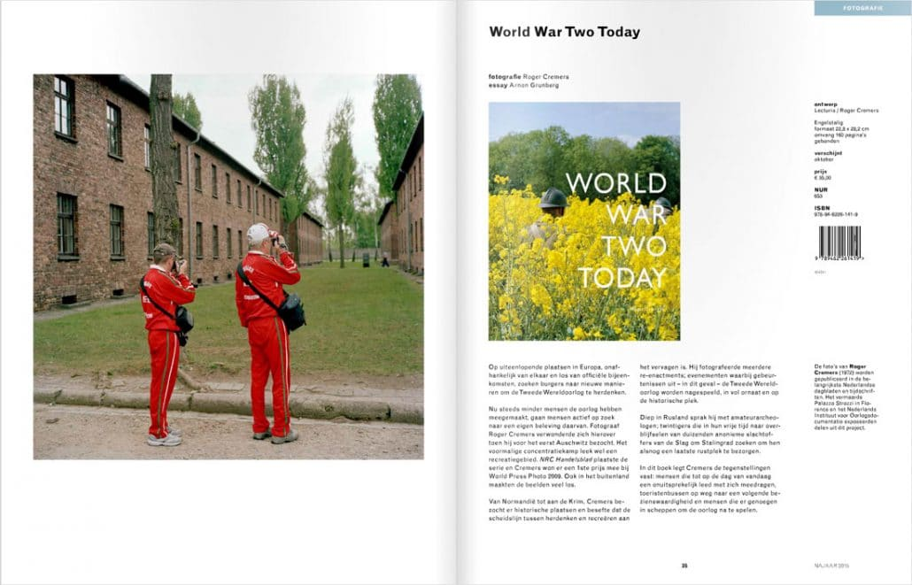 Najaarsbrochure 2015 Lecturis World War Two - Roger Cremers