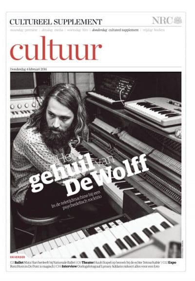 DeWolff in NRC Handelsblad Cultureel Supplement by Roger Cremers 2016