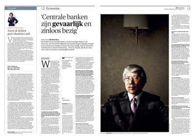 Richard Koo in NRC Handelsblad by Roger Cremers 2016