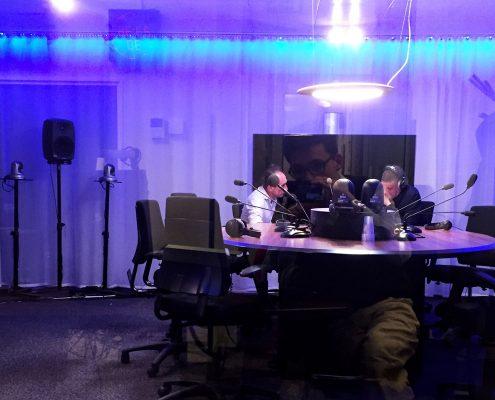 Roger Cremers bij het VPRO radio programma Nooit meer slapen