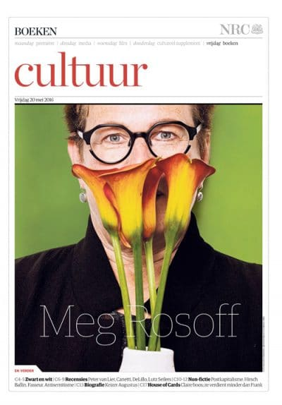 Cover Meg Rosoff in NRC Handelsblad By Roger Cremers