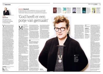 Meg Rosoff in NRC Handelsblad By Roger Cremers