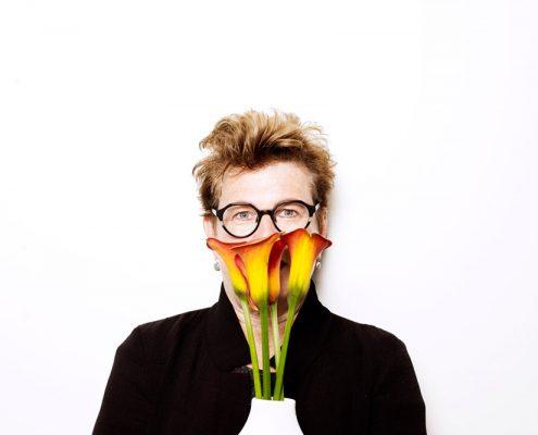 Nederland, Amsterdam, 11-05-2016 Meg Rosoff, American writer based in London, United Kingdom. PHOTO AND COPYRIGHT ROGER CREMERS