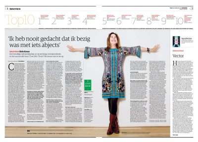 Chris Kraus in NRC Handelsblad by Roger Cremers 2016
