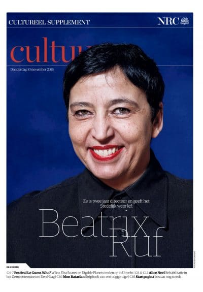Beatrix Ruf in NRC Handelblad Cultureel Supplement by Roger Cremers 2016