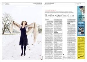 Nathalie Baartman in NRC Handelsblad by Roger Cremers 2017