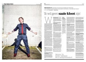 René ten Bos in NRC Handelsblad by Roger Cremers 2017