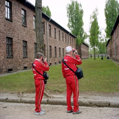 Auschwitz Tourism 2008 by Roger Cremers