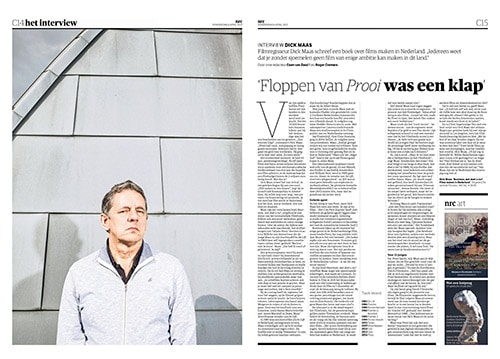 Dick Maas in NRC Handelsblad Cultureel Supplement by Roger Cremers 2017