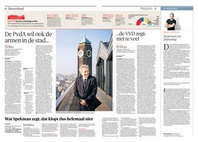 Eberhard van der Laan in NRC Handelsblad by Roger Cremers 2014