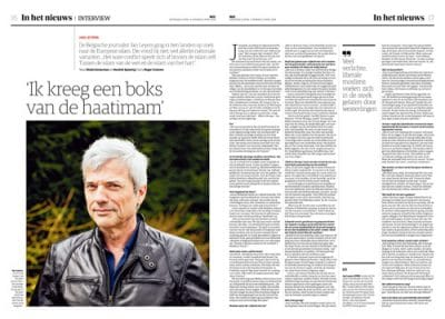 Jan Leyers in NRC Handelsblad by Roger Cremers 2018