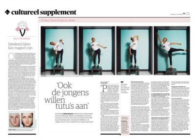 Dido Masilo in NRC Handelsblad by Roger Cremers 2018