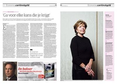 Neelie Kroes in NRC Handelsblad by Roger Cremers 2018