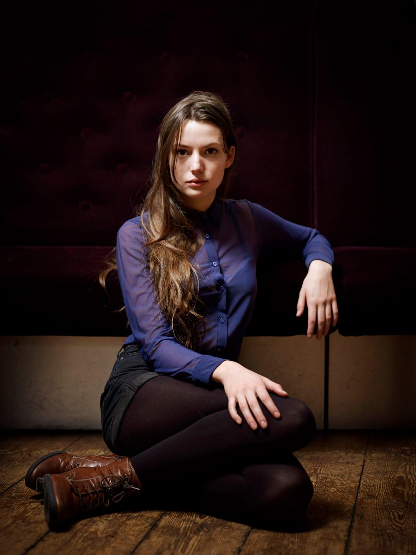 Nederland, Amsterdam, 24-12-2012 Gaite Jansen, Nederlandse actrice. PHOTO AND COPYRIGHT ROGER CREMERS