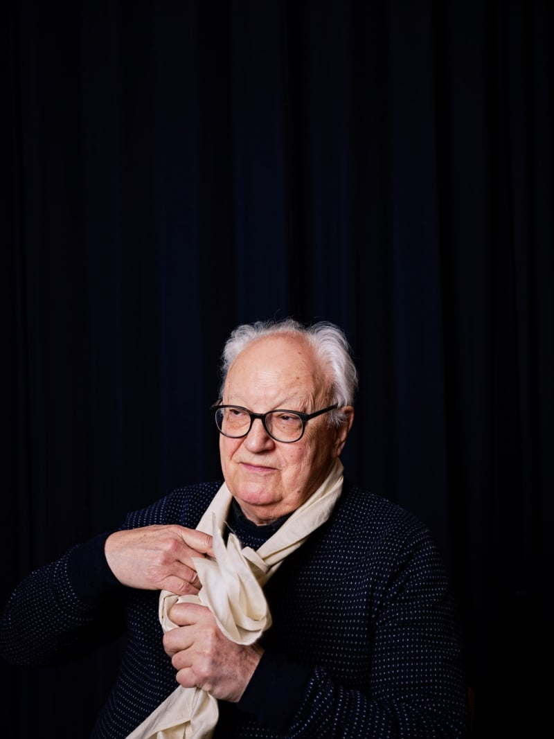 Étienne Balibar by Roger Cremers 2019