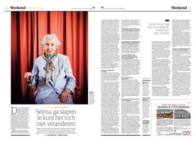 Selma van de Perre in NRC Handelsblad by Roger Cremers 2020