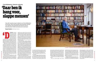 Frits Bolkestein in de Groene Amsterdammer by Roger Cremers 2021
